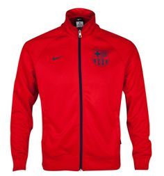 Barcelona Core Trainer Jacket Red FC Barcelona Official Merchandise Available at www.itsmatchday.com