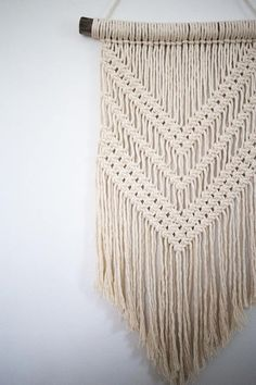 Macrame wall hanging // boho // tapestry // wall art //