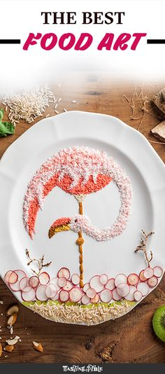 Food stylist Anna Keville Joyce is doing beautiful things to plates of food