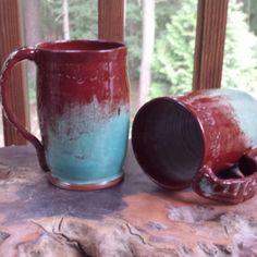 Wheel-Thrown 18oz Stoneware Mug, $39 ea. Stoneware Mugs, Moscow Mule Mugs, Ea, Pottery, Tableware, Handmade, Ceramica, Dinnerware, Hand Made