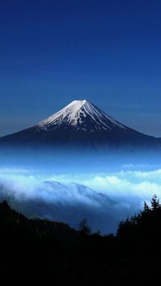 Mount Fuji Japan http://theiphonewalls.com/mount-fuji-japan/