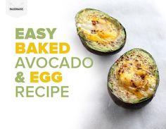 Easy Baked Avocado