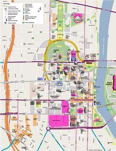 21 Best Nashville Map images in 2014 | Map of nashville, Nashville Downtown Nashville Bars Map on