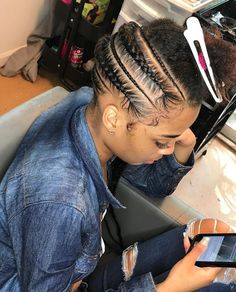 Spiffy Fashion Amazing Braided Hairstyles For You To Try - Hair styles Black Girl Braids, Braids For Black Hair, Girls Braids, Baddie Hairstyles, Black Girls Hairstyles, Braided Hairstyles, Protective Hairstyles, Stylish Hairstyles, Braided Ponytail