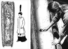 Princess Ukok, scheme of her burial, and scientist at work | Princess Ukok, scheme of her burial, drawing of her clothes, and, right, scientists pictured first minutes after opening her 'coffin', with ice still inside it. Institute of Archeology and Ethnography, Siberian Branch of Russian Academy of Science