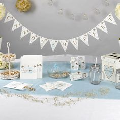 Wedding - Candy Buffet Bunting - To Have and To Hold
