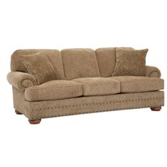 @Overstock - Evan is the ideal sofa, with an inviting, traditional design and cozy comfort that ensure your home is ready for every occasion. Nail head accents on the arms and the base adds the perfect touch.http://www.overstock.com/Home-Garden/Broyhill-Evan-Sofa/6722910/product.html?CID=214117 $729.99