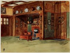 Laurelhurst Craftsman Bungalow: Interiors in Colours 1912
