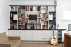 Beautiful Built in and Walk-in Wardrobe design & Storage Solutions Walk In Wardrobe Design, Living Room Storage, Bed Wall, Organizing Your Home, Entertainment Center, Storage Solutions, Home Office, Family Room, Living Spaces