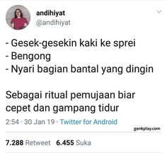 34 trendy ideas for memes indonesia humor Quotes Lucu, Jokes Quotes, Me Quotes, Funny Quotes, Qoutes, Hair Quotes, Funny Tweets Twitter, Twitter Quotes, Super Memes