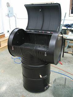 T barrel smoker | Hier was von den BBQ Pitbuilders