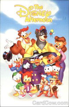 "The 13 Best ""Disney Afternoon"" Shows These classic cartoons are ranked from best to worst (woo oo!The 13 Best ""Disney Afternoon"" Shows These classic cartoons are ranked from best to worst (woo oo! Old School Cartoons, Old Cartoons, Classic Cartoons, Early 90s Cartoons, Popular Cartoons, 90s Childhood, My Childhood Memories, Retro, 80s Kids"