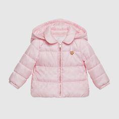 Baby GG nylon padded jacket