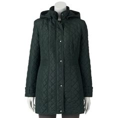 Weathercast Hooded Quilted Jacket - Women's