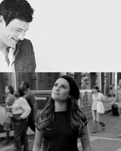 because there's already a star named Rachel Berry, and she's brighter than any other start out there andshe's right here on earth. And I want her to know that whenever she feels lonely, she can look up and know that I'm looking down on her ♡♡