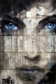 "Saatchi Art Artist Loui Jover; Drawing, ""new horizon"" #art"