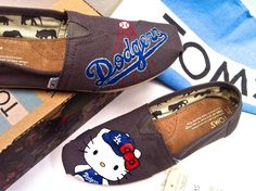 Dodgers Hello Kitty Toms
