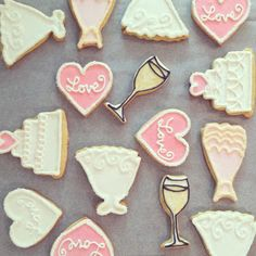 1000 images about bridal shower cookies on pinterest