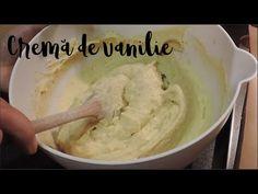 Cremă de vanilie - rețeta de bază | Raluca Gheorghe - YouTube Icing, Caramel, Ethnic Recipes, Desserts, Youtube, Food, Sticky Toffee, Tailgate Desserts, Candy