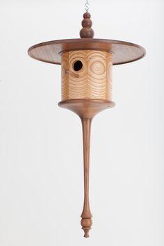 """Pendant Robert Shuping, 2013 Ash, black walnut 27.25 x 13.75"""""""