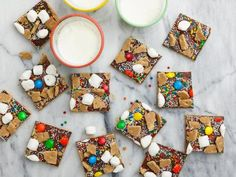 "Spreads Recipe : Ree Drummond : Food Network - Episode: Football Camp (Easy ""Cookie/Bars"" for picnics. Color Sprinkle, Pioneer Woman Recipes, Pioneer Women, Cookie Bars, Bar Cookies, Cookie Crust, Keto Cookies, Yummy Cookies, Cupcake Cookies"