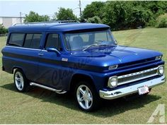 1965 Chevrolet Suburban Custom trucks are becoming more and more popular but you still don't many vintage Suburbans. This 1965 Chevrolet Suburban. 1966 Chevy Truck, Chevrolet Trucks, Chevrolet Parts, Classic Trucks, Classic Cars, C10 Trucks, Chevy Muscle Cars, Panel Truck, Jaguar Xk