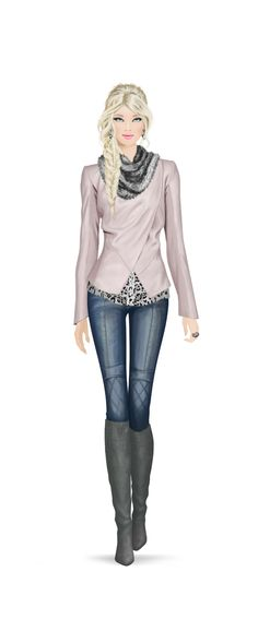 Covet Fashion Game- don't know who made this, but I LOVE this outfit!