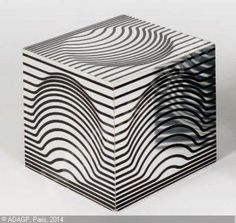 VASARELY Victor,Cube cinétique,Gros & Delettrez,Paris