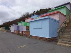 Folkestone, UK - Beach Huts