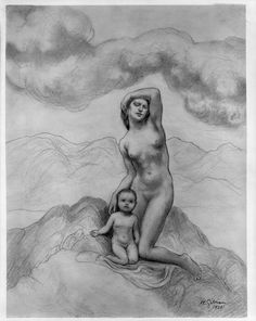 Kahlil Gibran - American (Bsharri, Ottoman Syria (now Lebanon) 1883 - 1931 New York City, USA)