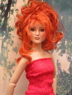 About Mylène: Antoinette Repaint #tonner #Antoinette #dolls
