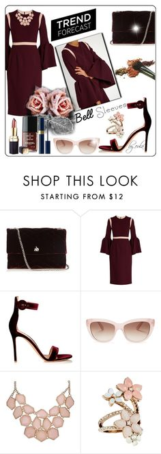 """""""Street Style Trend: Bell Sleeves"""" by eula-eldridge-tolliver on Polyvore featuring Lanvin, Roksanda, Gianvito Rossi, Bastien, Kate Spade and Accessorize"""