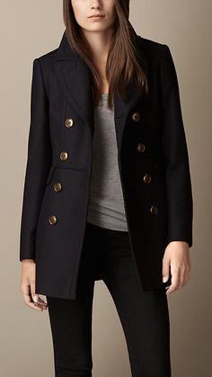 Double Wool Twill Coat | Burberry