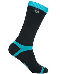 Dexshell Coolvent Mid-Calf Waterproof Socks, Aqua Blue, X-Large - Survival By Southern Zoomer Best Survival Gear, Survival Prepping, Hiking Socks, Thing 1, Fashion Socks, Women's Fashion, Fashion Outfits, Athletic Socks, Green Stripes