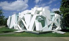 The 2002 pavilion by Toyo Ito with Arup. Photograph: Raf Makda / View Pictures / Rex
