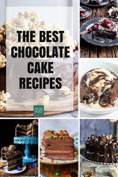 The Best Chocolate Cake Recipes You& Ever Make Chocolate Yogurt Cake, Chocolate Frosting Recipes, Amazing Chocolate Cake Recipe, Best Chocolate Cake, Lava Cake Recipes, Dessert Recipes, Desserts, Wafer Cake Recipe, Almond Cakes