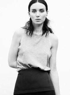 Elle US September 2013. Rooney Mara by Thomas Whiteside