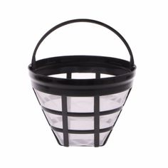 New Replacement Coffee Filter Baskets Reusable Refillable Basket Cup Style Brewer Tool Coffee & Tea Accessories Coffee Supplies, Coffee And Tea Accessories, Coffee Filters, Tools, Baskets, Coffee Machines, Style, Mesh, Stainless Steel