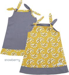 Binksy and Bobo - Reversible Tie Dress