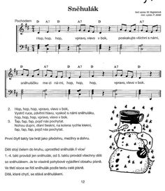 Kids Songs, Sheet Music, Montessori, Nursery Songs, Music Score, Music Sheets