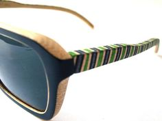 Bamboo Skate Sunglasses (Two Tone Ryder).