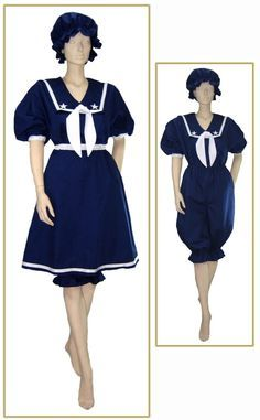 sailor suit swimsuit - Google Search