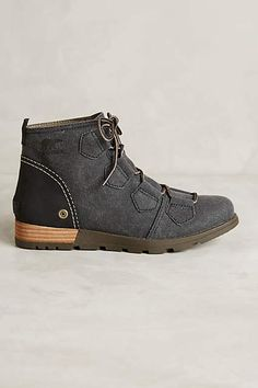 Sorel Major Lace Boots - anthropologie.com