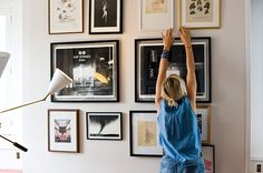 pictures on the wall.