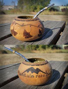 Beautiful Yerba Mate Gourd!