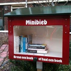 Minibieb, Van der Palmstraat 83, 2273 SE, Voorburg, Nederland