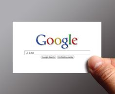 Google me business cards