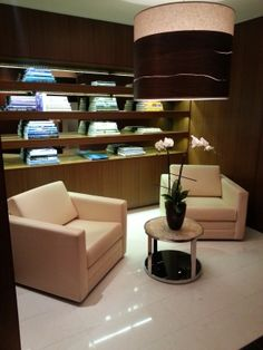 Customized collection of books on relaxation-related topics for the Spa at Langham Place