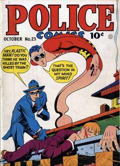 Marvel Comic Books, Comic Books Art, Comic Art, Book Art, Vintage Comic Books, Vintage Comics, Jack Cole, Buy Comics, Plastic Man