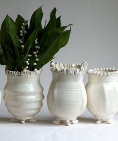 Frances Palmer - Handmade Vases! Whimsical!!